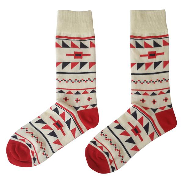 جوراب زنانه ال سون طرح مثلث کد PH85