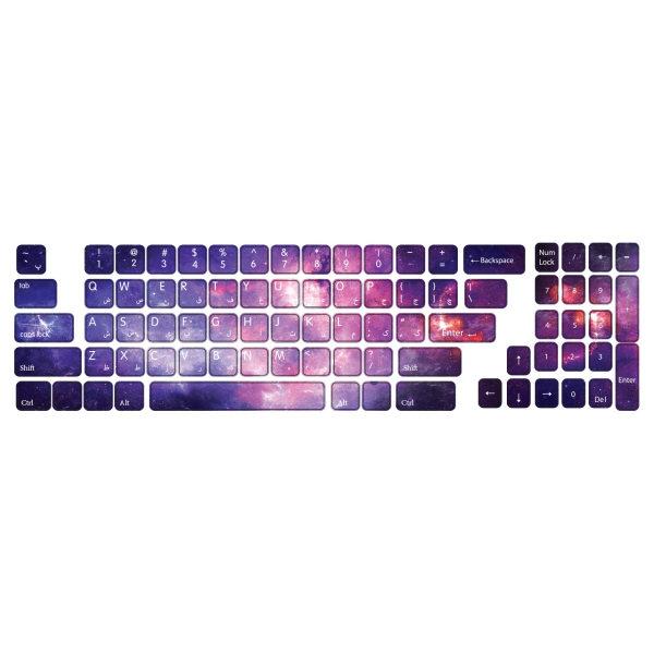 برچسب  حروف فارسی کیبورد طرح Space  کد ۱۰۱