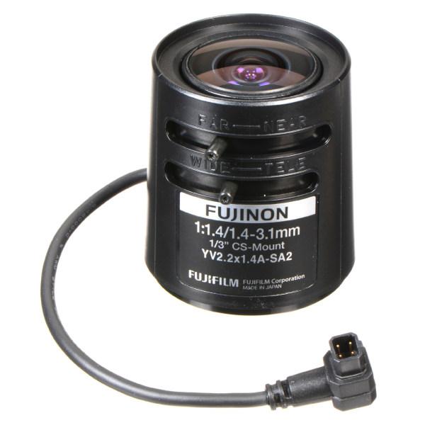 لنز دوربین مداربسته فوجینون مدل YV2.2X1.4A-SA2