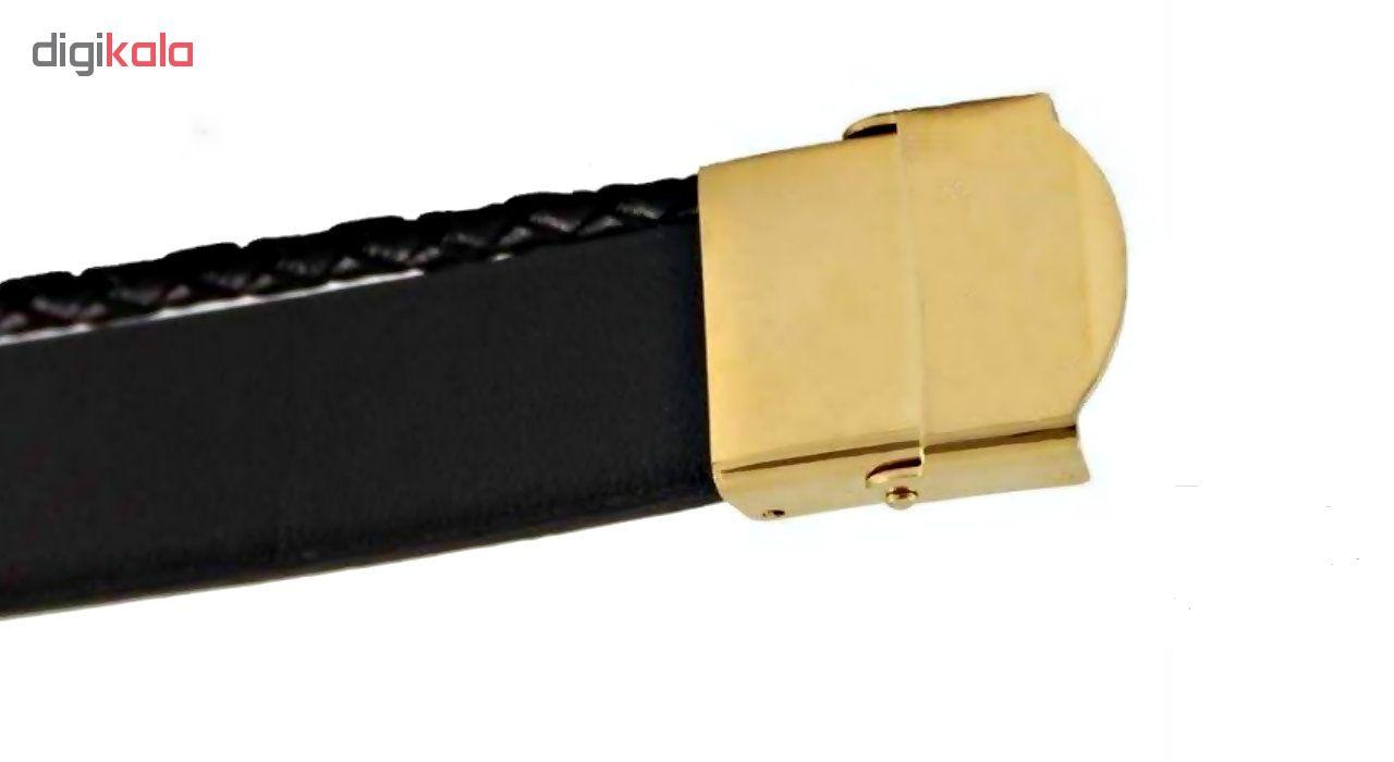 دستبند طلا 18 عیار ارشا اسم میلاد کدA2157