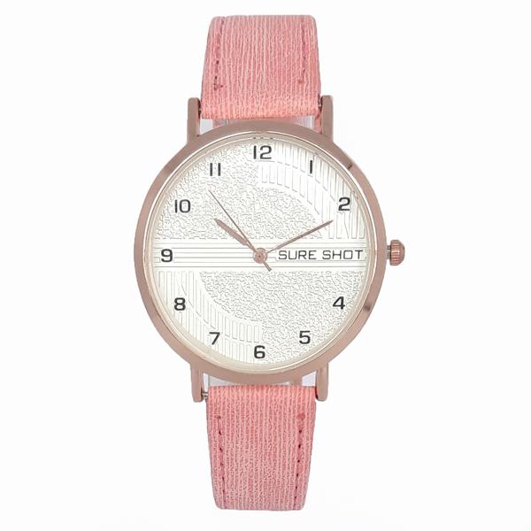 ساعت مچی عقربه ای زنانه سوری شات مدل SUR 9988 / SOR به همراه دستمال مخصوص نانو برند کلیر واچ