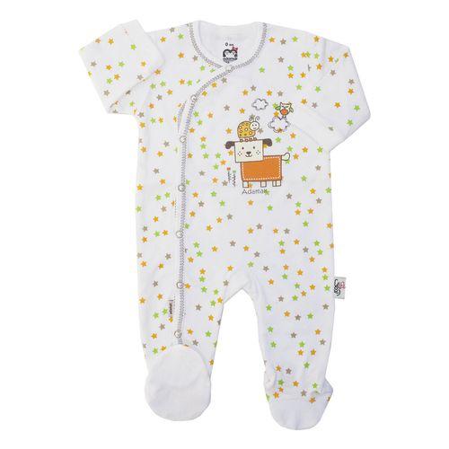 سرهمی نوزادی آدمک طرح ستاره کد 02