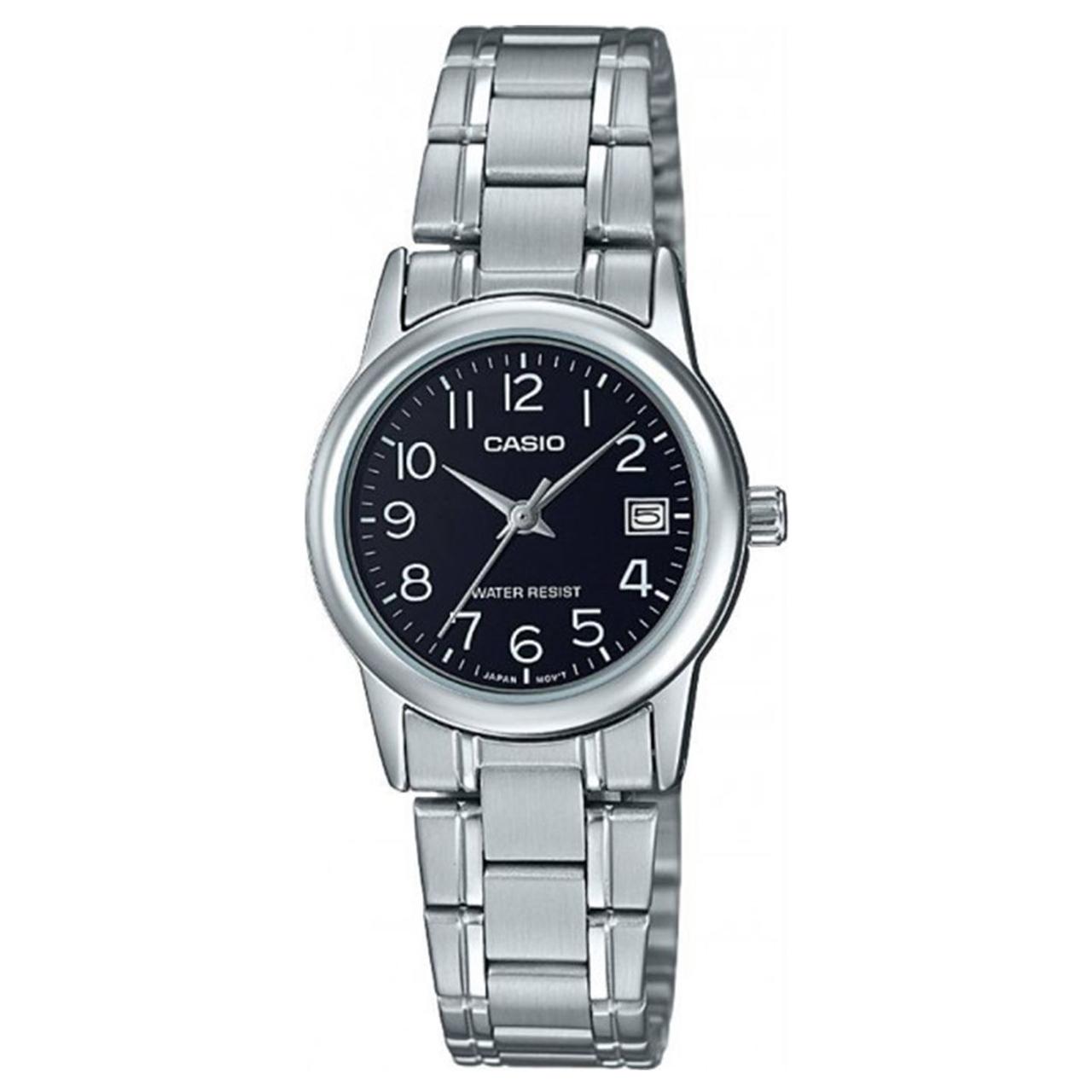 ساعت مچی عقربه ای زنانه کاسیو مدل LTP-V002D-1BUDF