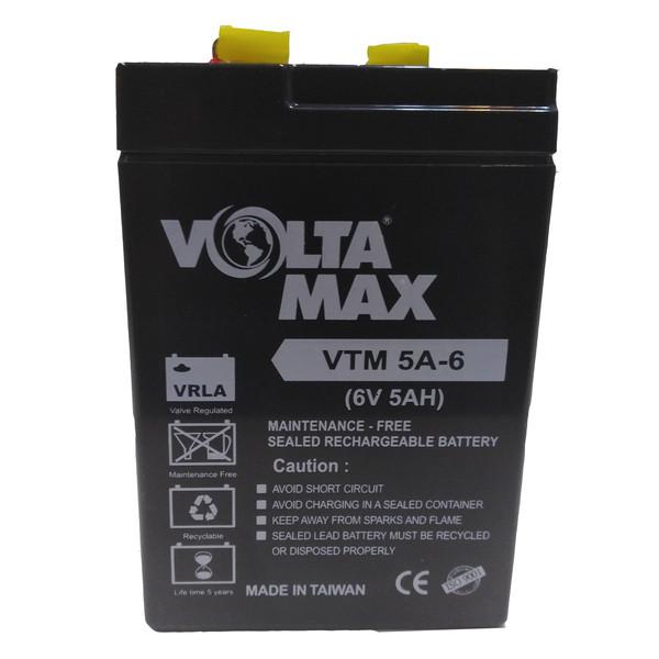 باتری یو پی اس 6 ولت 5 آمپرساعت ولتامکس مدل VTM 5A-6