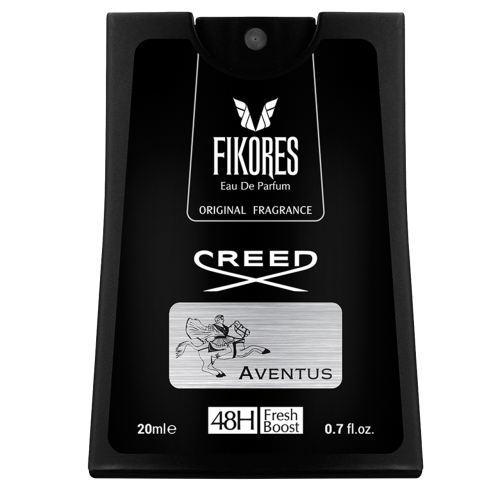 عطر جیبی مردانه فیکورس مدل Aventus Creed حجم 20 میلی لیتر