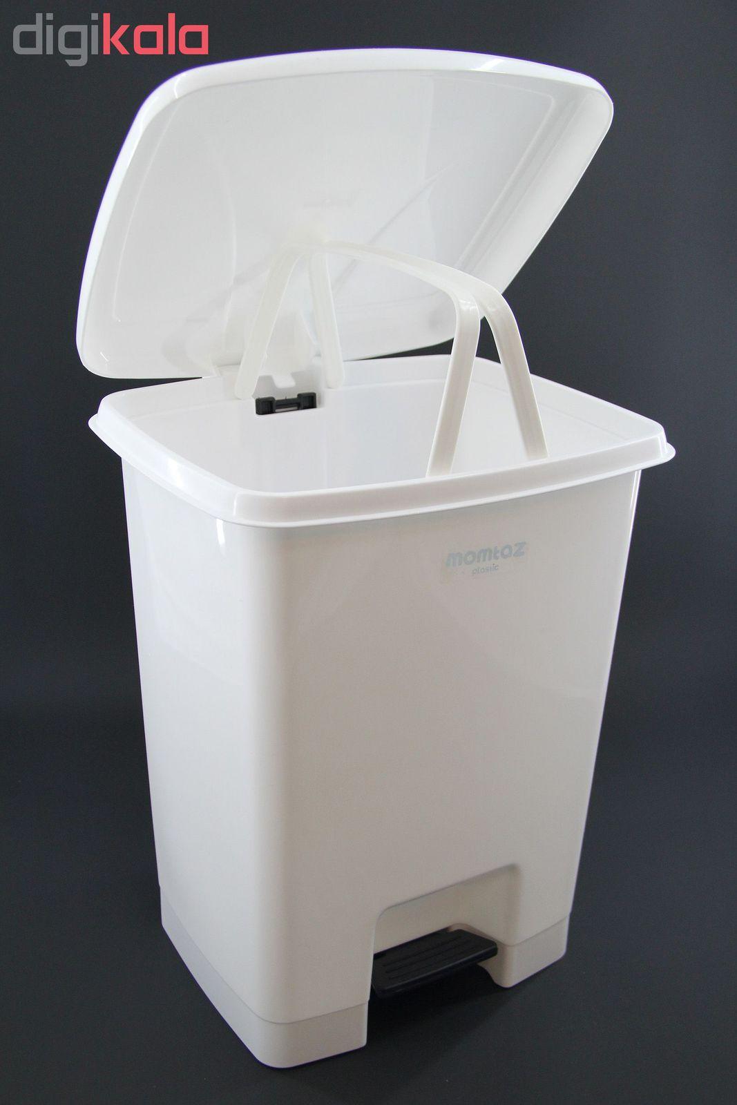 سطل زباله ممتاز پلاستیک مدل 730 ظرفیت ۲۵ لیتری main 1 3