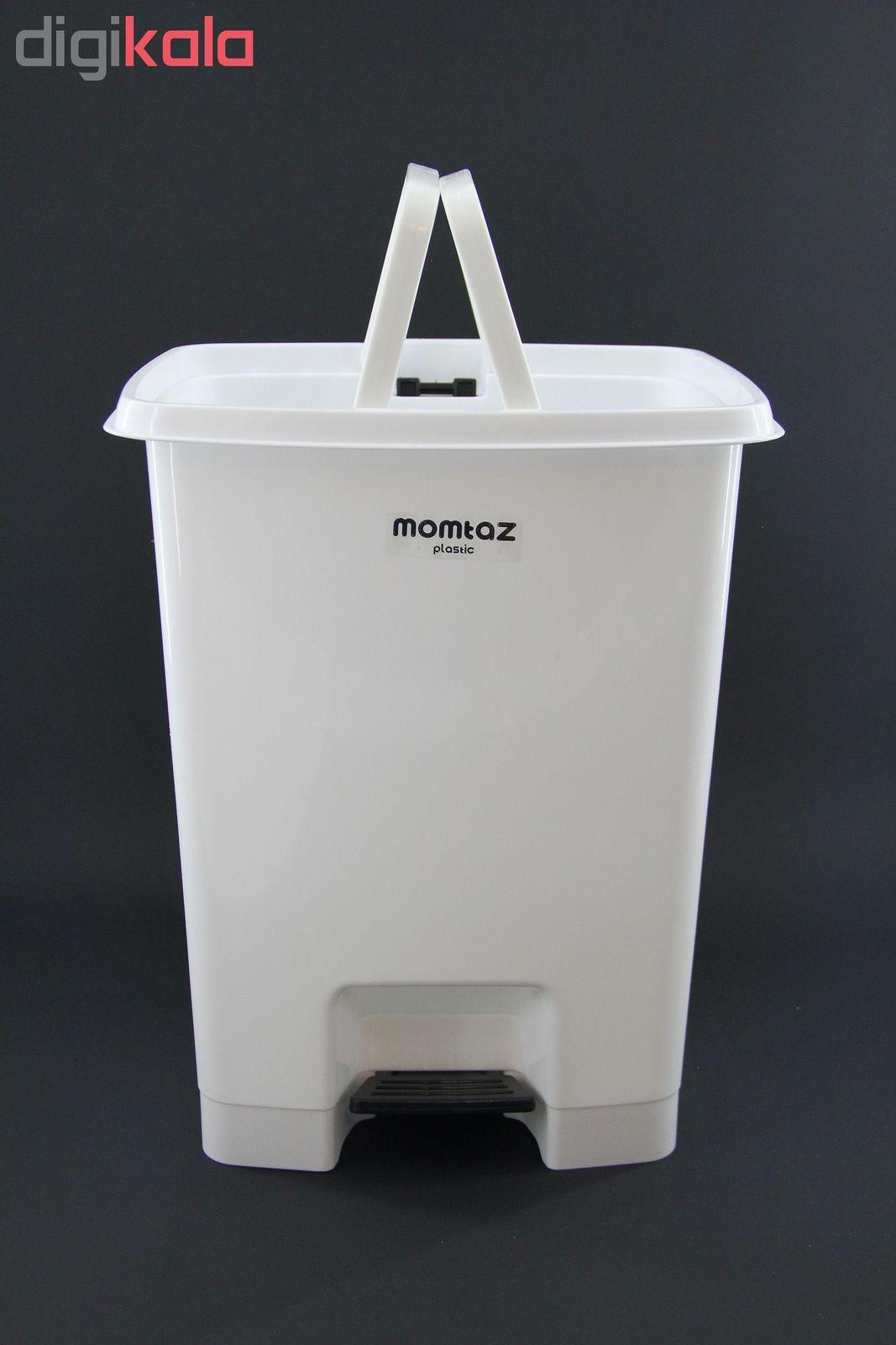سطل زباله ممتاز پلاستیک مدل 730 ظرفیت ۲۵ لیتری main 1 1