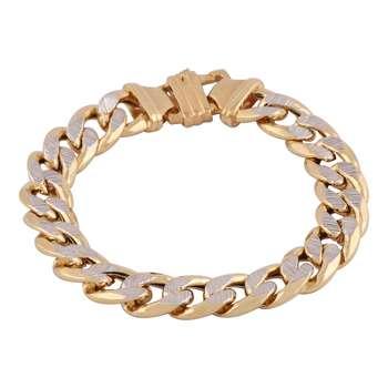 دستبند طلا 18 عیار گوی گالری مدل G338