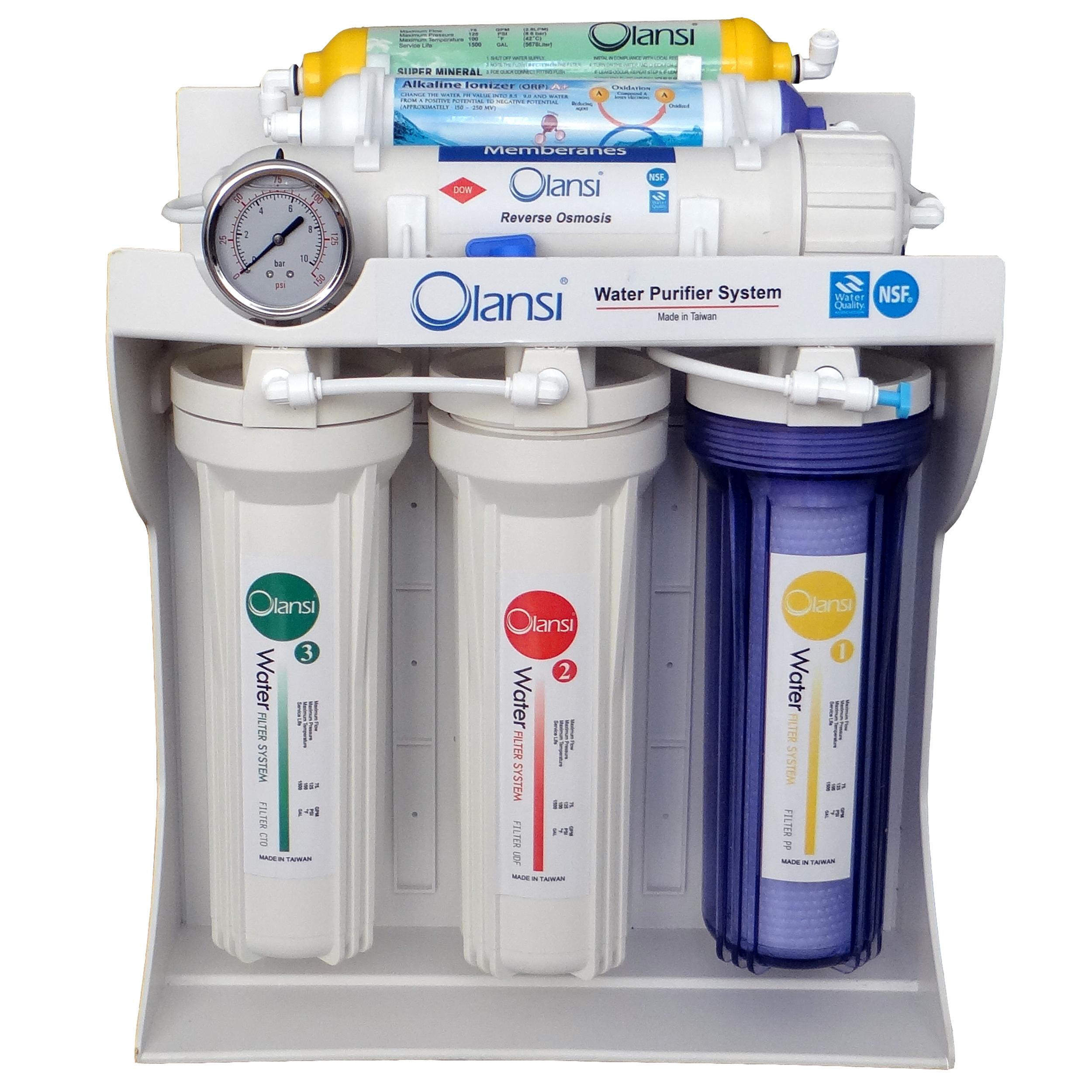 دستگاه تصفیه کننده آب خانگی اولانسی مدل RO-A1320