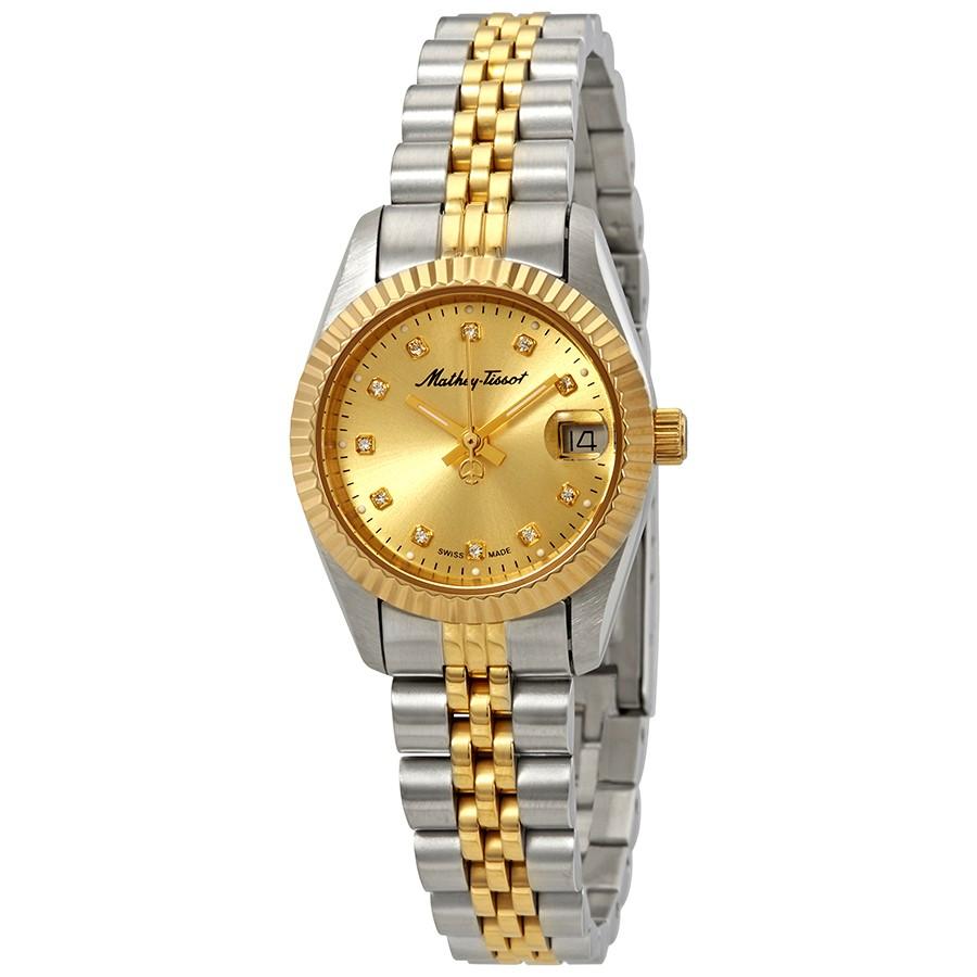 ساعت مچی عقربه ای زنانه متی تیسوت  مدل  D710BDI