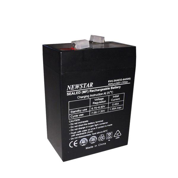 باتری 6 ولت 4.5 آمپر نیو استار مدل SPN6-4.5