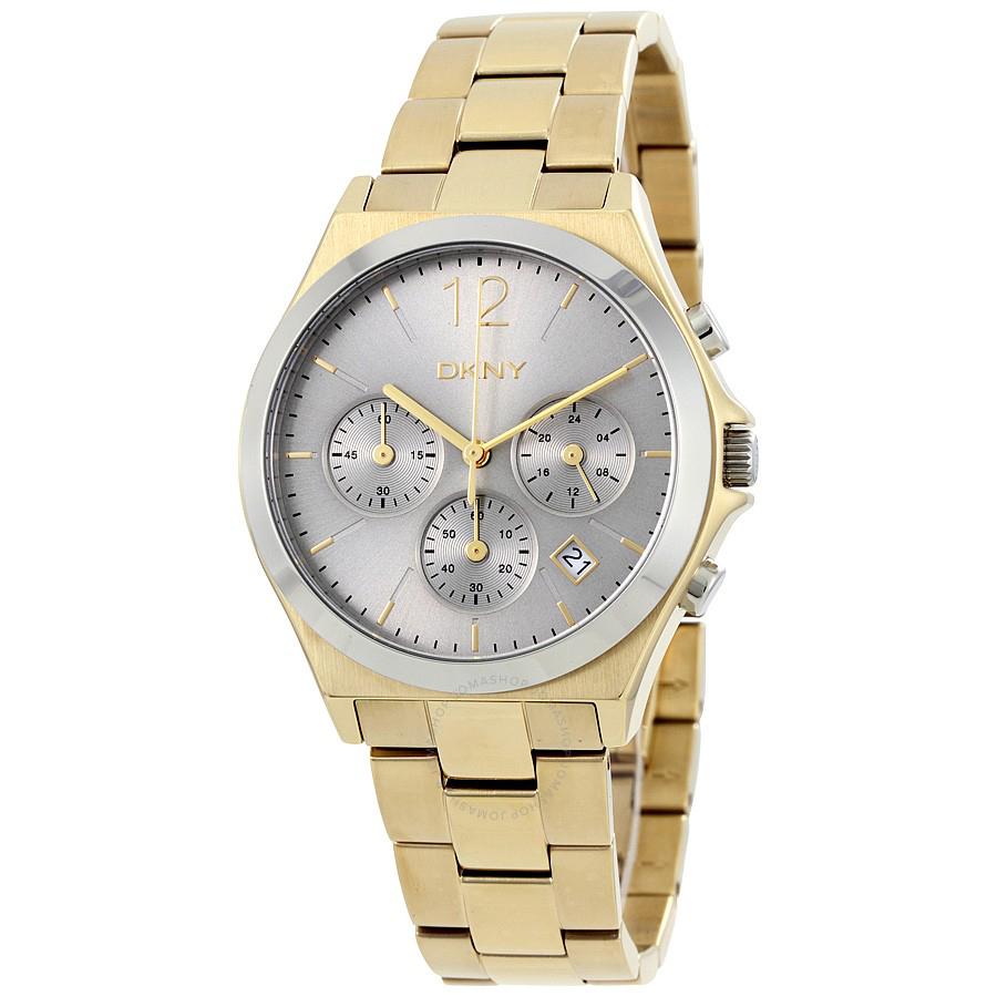 ساعت مچی عقربه ای زنانه دی کی ان وای مدل NY2452