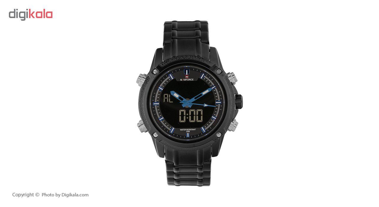 ساعت مردانه نیوی فورس کد NV02
