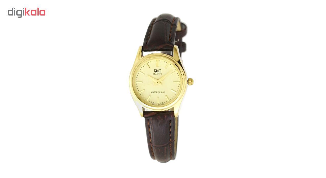 ساعت مچی عقربه ای زنانه کیو اند کیو مدل q853j100y