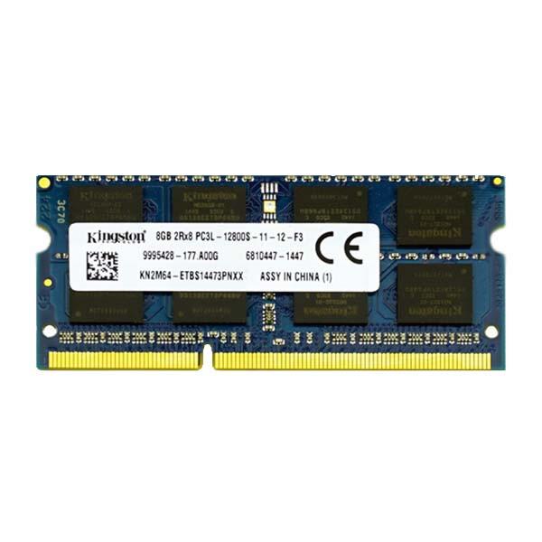 رم لپ تاپ کینگستون مدل DDR3 PC3L 12800S MHz ظرفیت 8 گیگابایت
