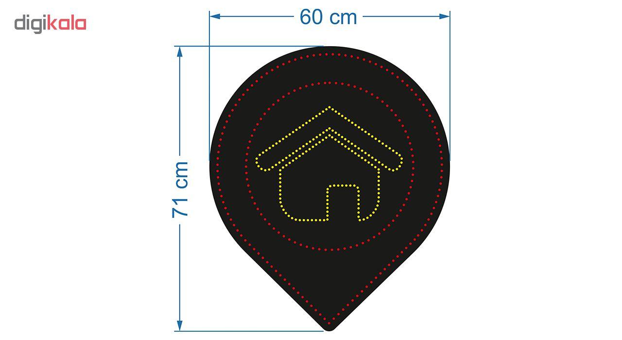 تابلو ال ای دی طرح مسکن کد 10355