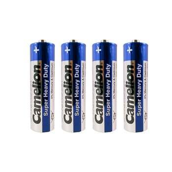 باتری قلمی کملیون مدل Super Heavy Duty بسته 4 عددی