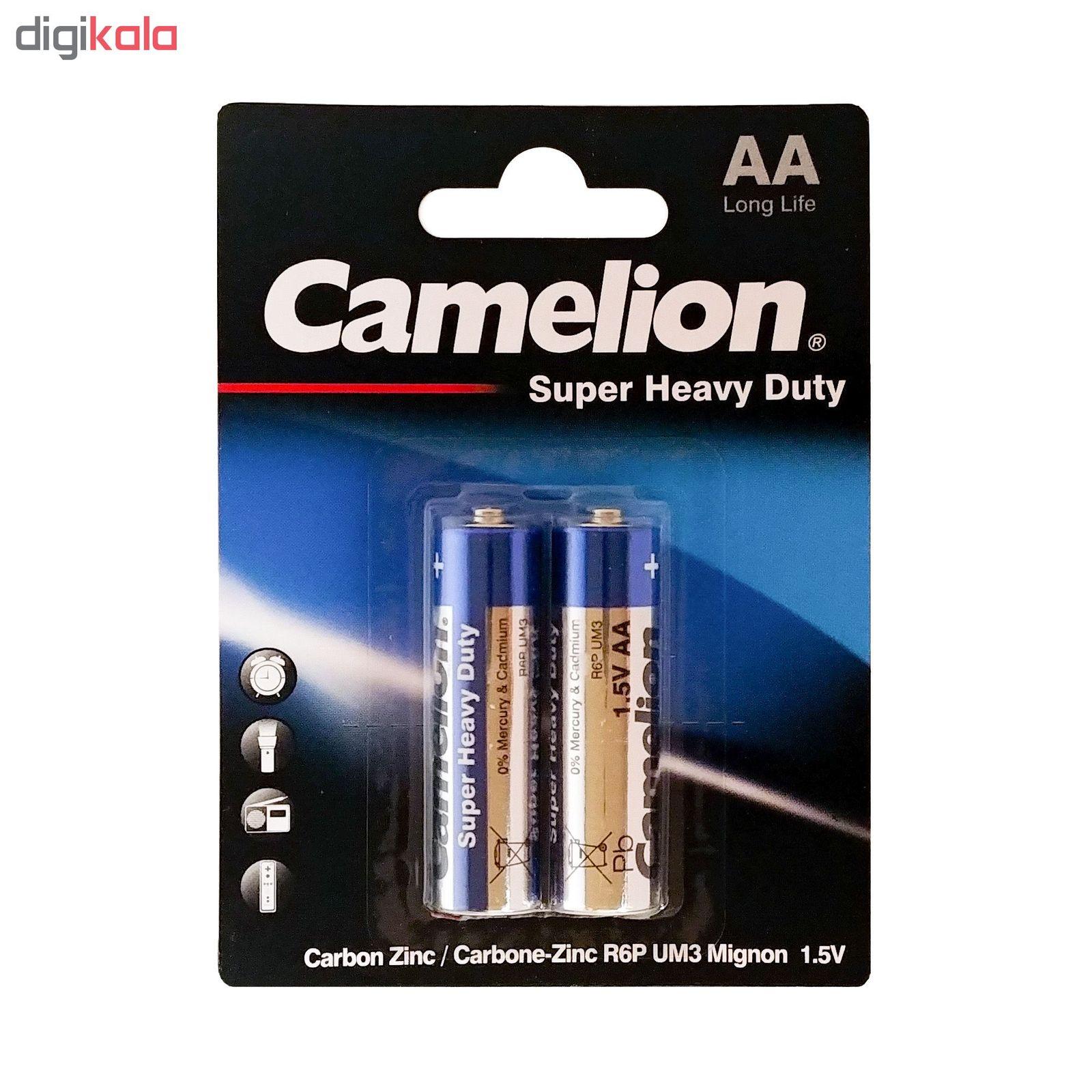 باتری قلمی کملیون مدل Super Heavy Duty بسته 2 عددی main 1 1