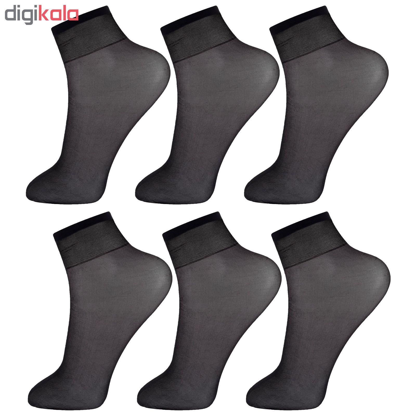 جوراب زنانه پنتی کد RG-PF 051-6 مجموعه 6 عددی main 1 2