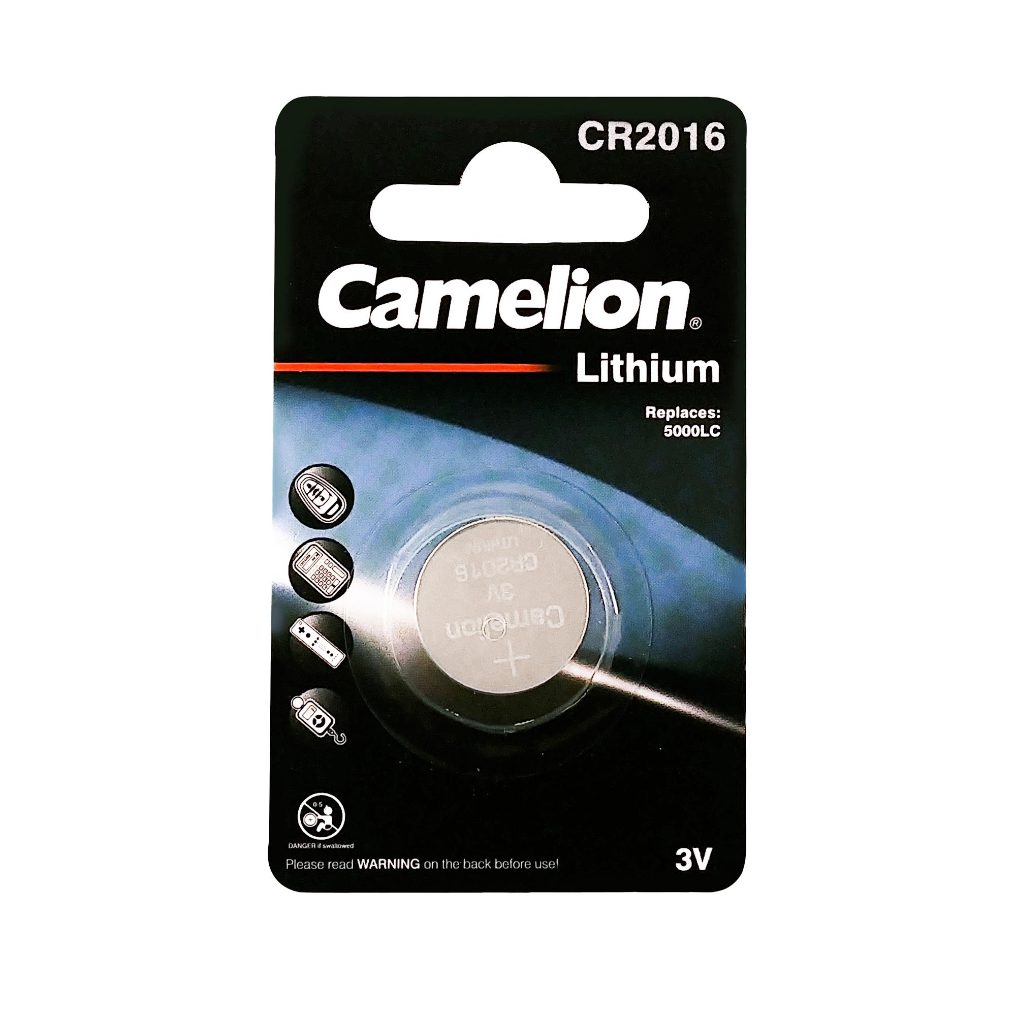 بررسی و {خرید با تخفیف}                                     باتری سکه ای کملیون مدل CR2016                             اصل