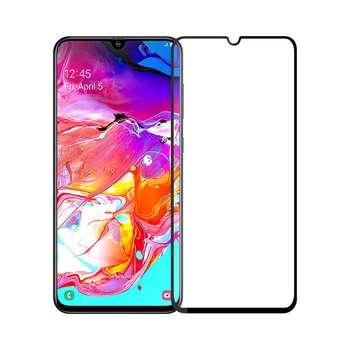 محافظ صفحه نمایش فول چسب مدل F002 مناسب برای گوشی موبایل سامسونگ Galaxy A70
