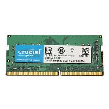 رم لپ تاپ DDR4 تک کاناله 2400 مگاهرتز کروشیال مدل CB8GS2400 ظرفیت 8 گیگابایت