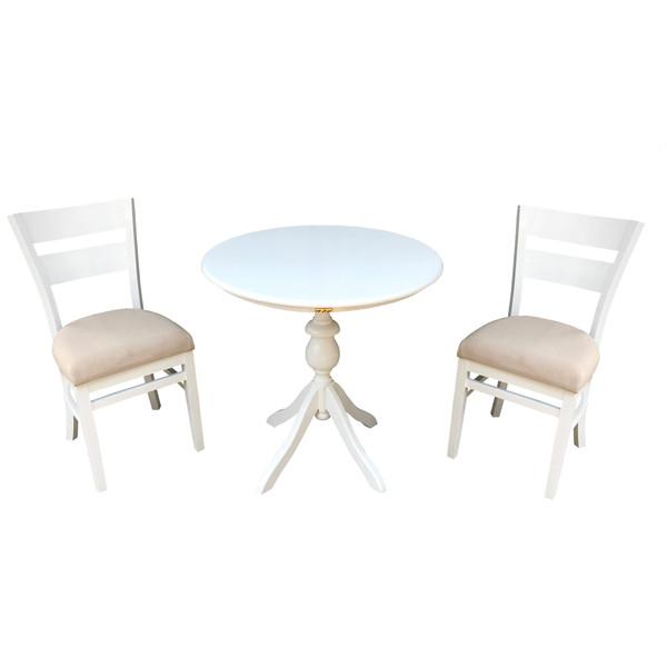 میز و صندلی ناهار خوری اسپرسان چوب مدل Sm35