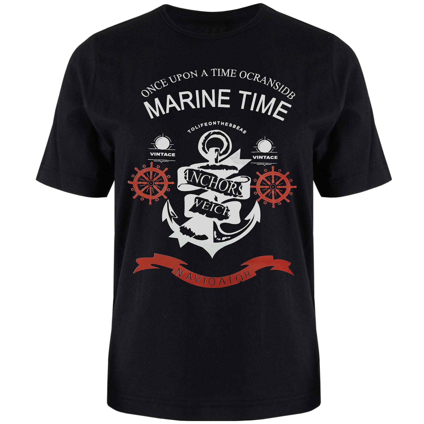 تی شرت آستین کوتاه مردانه مدل T8 کد L3