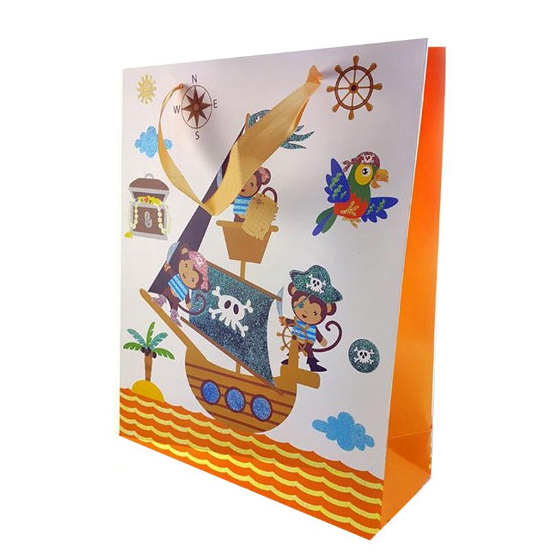 پاکت هدیه طرح دزدان دریایی کد B 2422