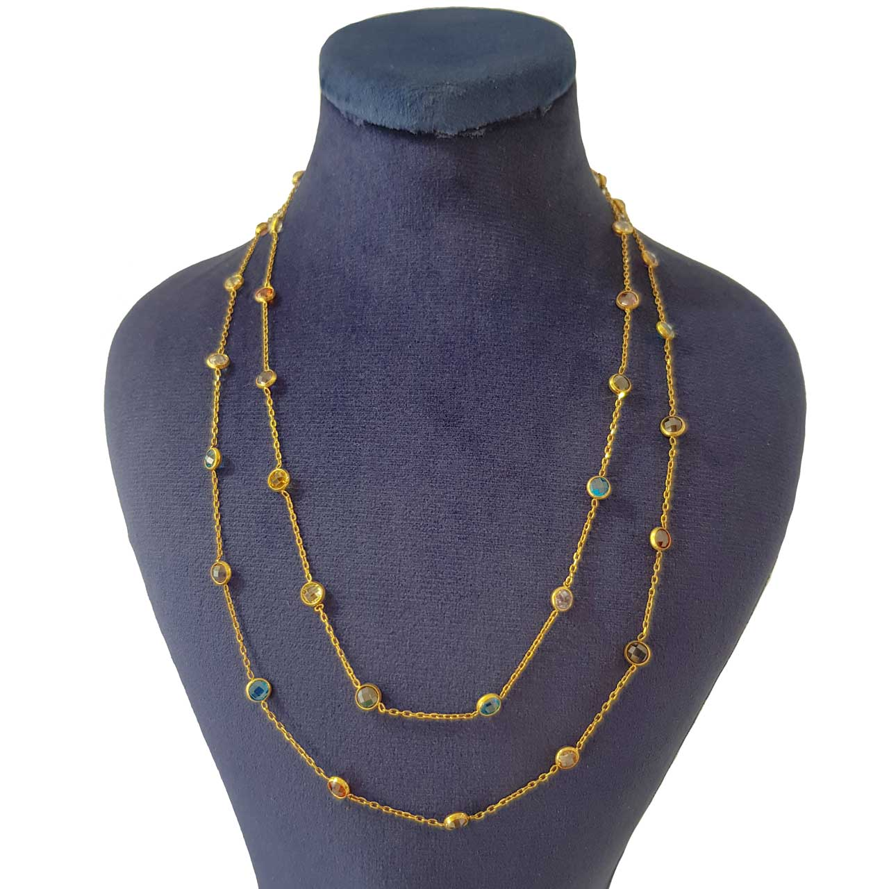 گردنبند طلا 18 عیار زنانه کانیار گالری مدل مارکو کد 2