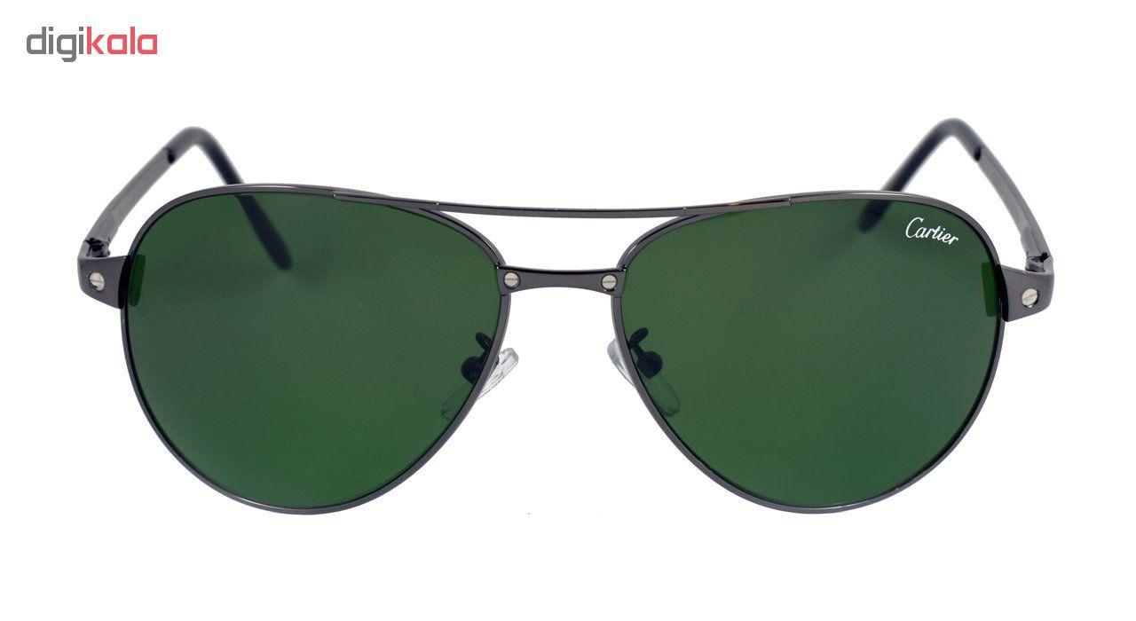 عینک آفتابی مردانه مدل T80002 Brushed