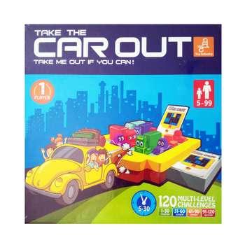 بازی فکری فکرانه مدل car out