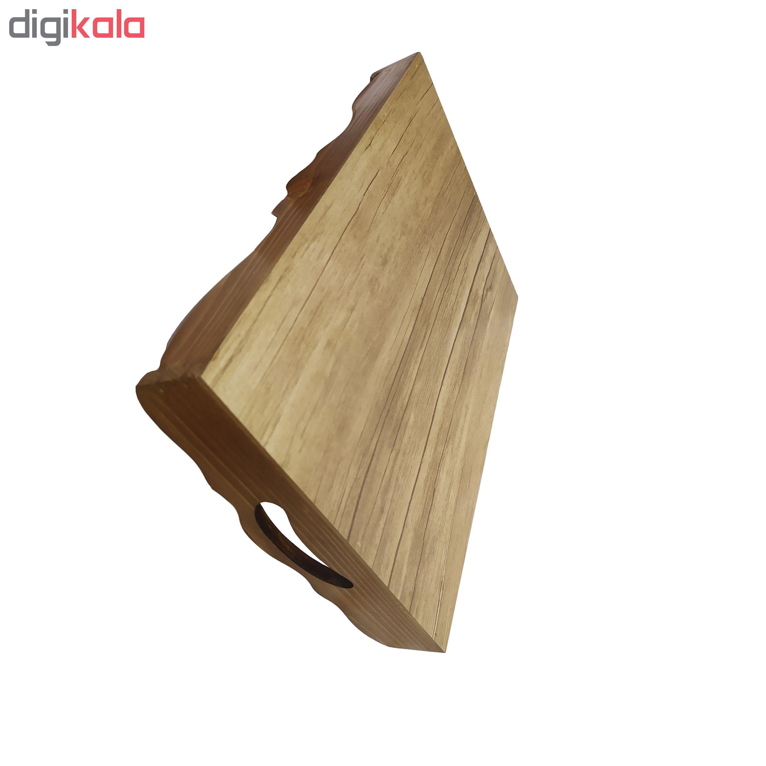 سینی کاشی کاری چوبی کد 203060