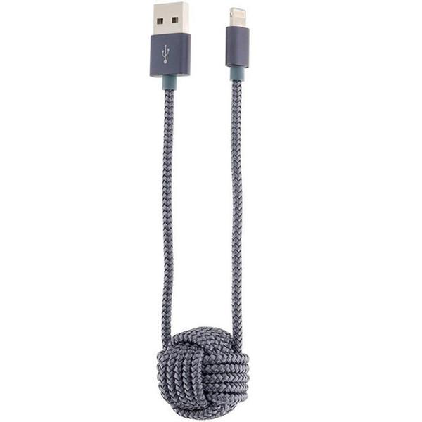 کابل تبدیل USB به لایتنینگ رسی مدل RCL-K100 طول 0.35 متر