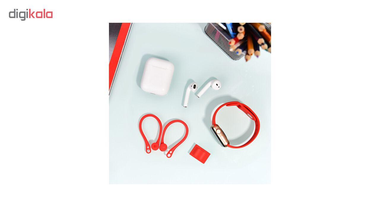 نگهدارنده دور گوشي كوتتسي مدل Wrist Fit مناسب براي اپل ايرپاد به همراه نگهدارنده ساعتي ايرپاد
