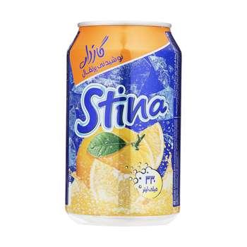 نوشیدنی گازدار پرتقال استینا - 330 میلی لیتر