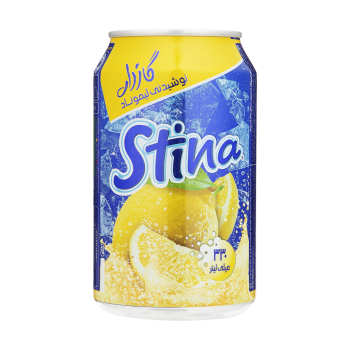 نوشیدنی گازدار لیموناد استینا - 330 میلی لیتر