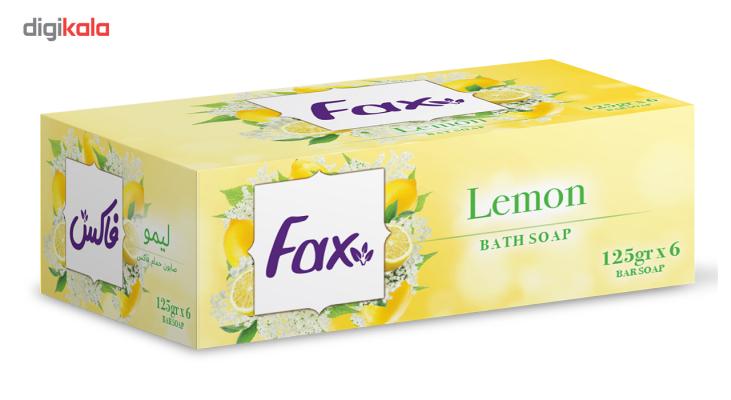 صابون فاکس مدل Lemon بسته 6 عددی