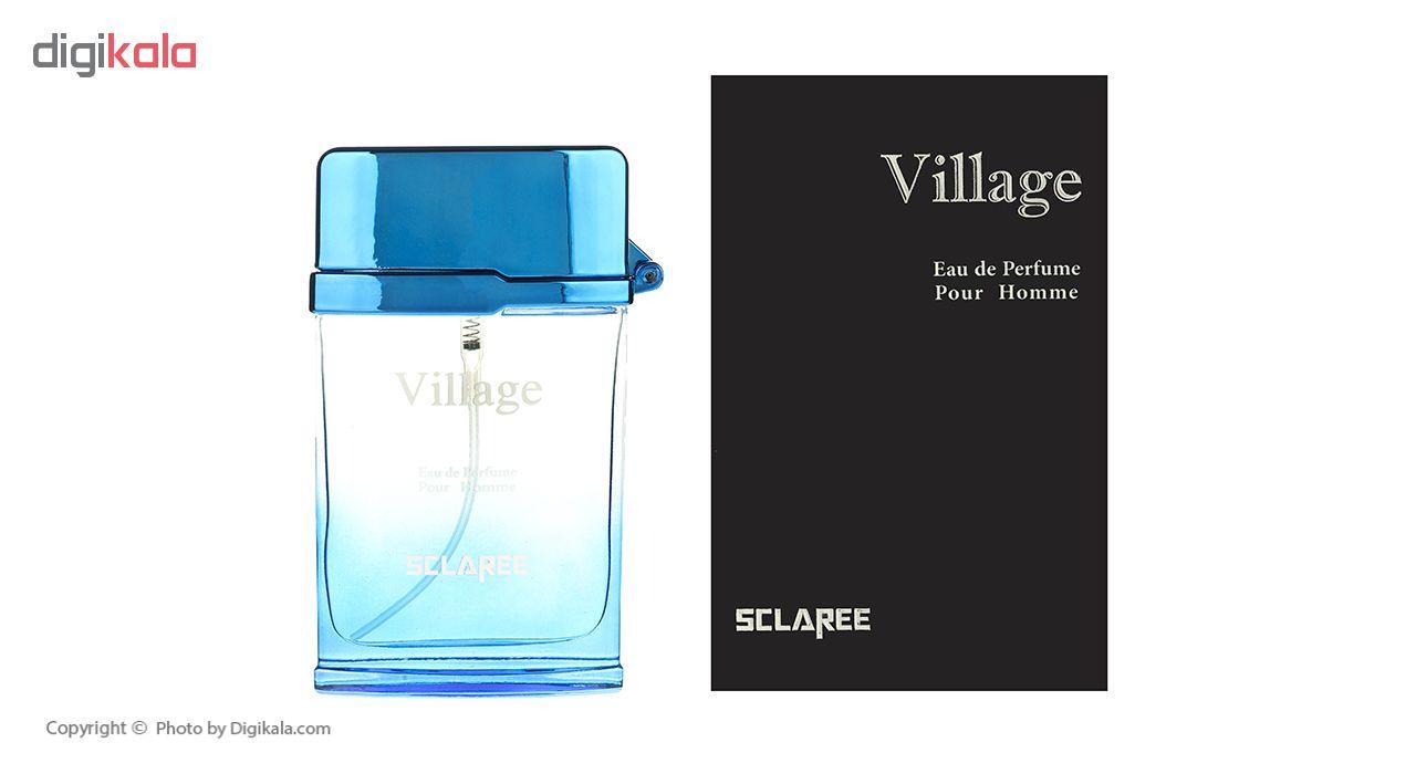 خرید اینترنتی ادو پرفیوم مردانه اسکلاره مدل Village حجم 100 میلی لیتر اورجینال