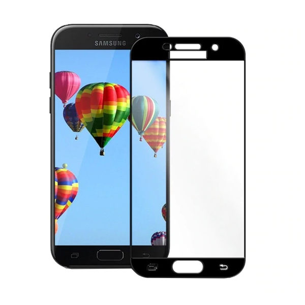 محافظ صفحه نمایش  فول چسب مدل F002 مناسب برای گوشی موبایل سامسونگ Galaxy A520 / A5 2017