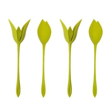 نگهدارنده دستمال طرح گل رز کد A001 مجموعه 4 عددی
