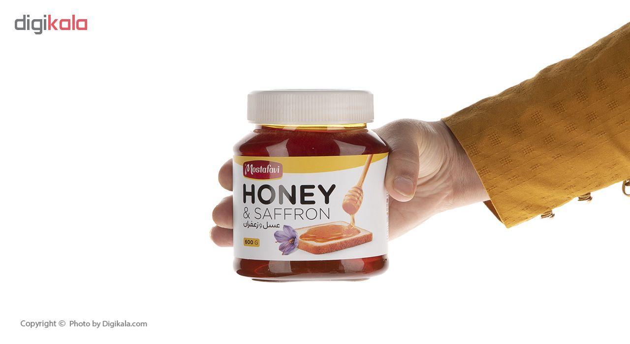 عسل و زعفران مصطفوی - 600 گرم main 1 7
