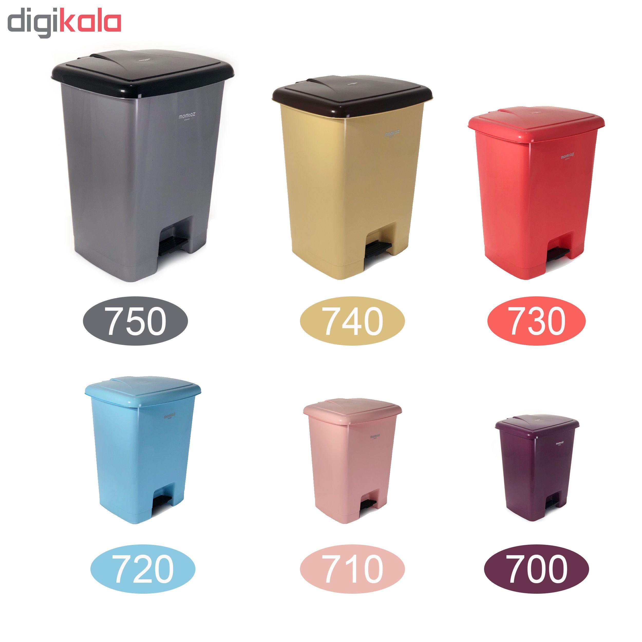 سطل زباله ممتاز پلاستیک مدل 730 ظرفیت ۲۵ لیتری main 1 4