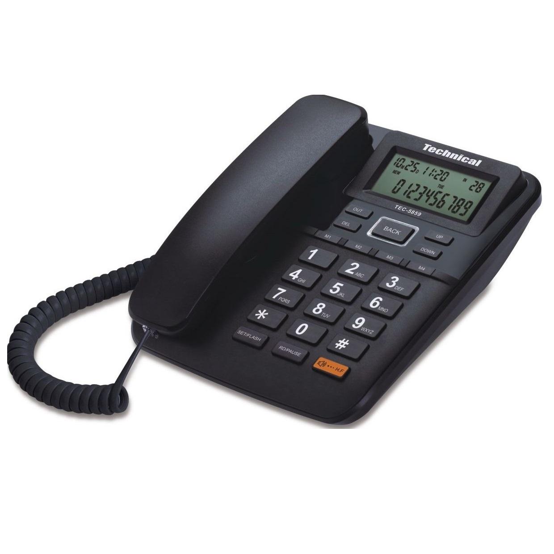 تلفن تکنیکال مدل TEC-5859