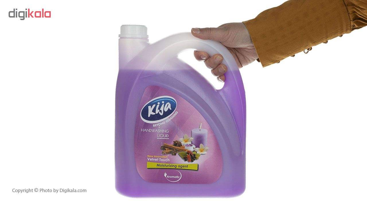 مایع دستشویی کیجا مدل Velvet Touch مقدار 3750 گرم main 1 3