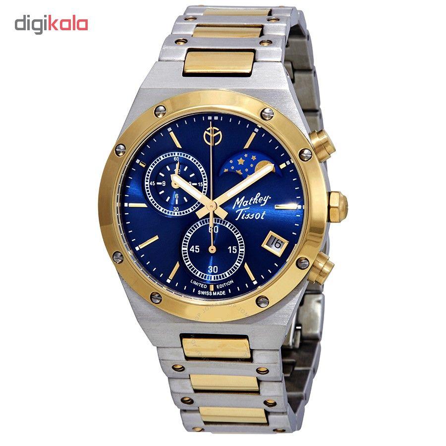 خرید ساعت مچی عقربه ای مردانه متی تیسوت مدل H680CHBBU