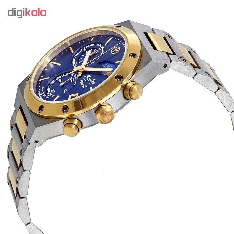 ساعت مچی عقربه ای مردانه متی تیسوت مدل H680CHBBU