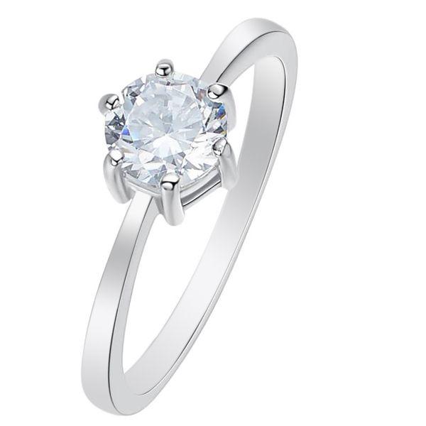 انگشتر نقره زنانه کد GR0626 -  - 2