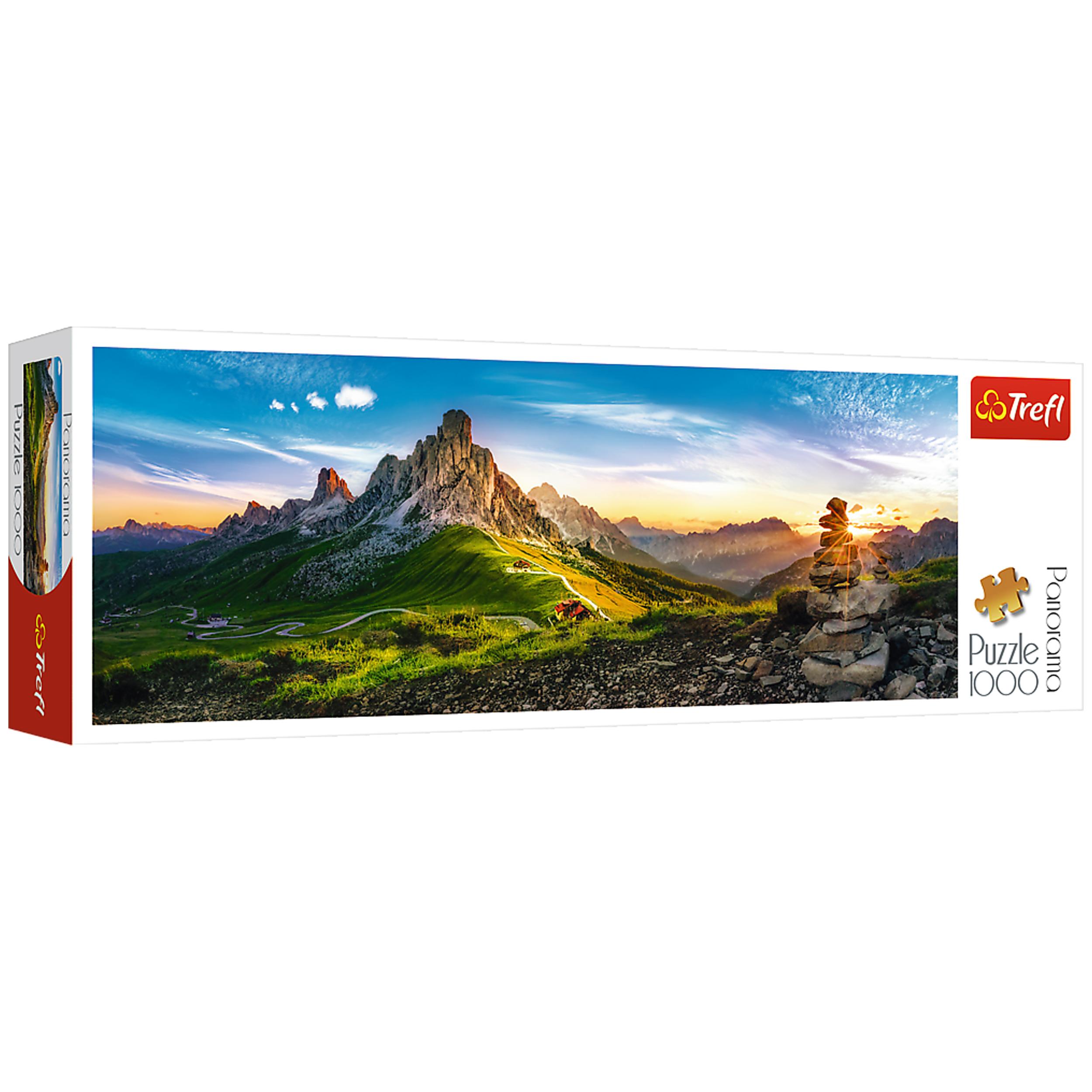 پازل 1000 تکه تریفل مدل Dolomites Italy