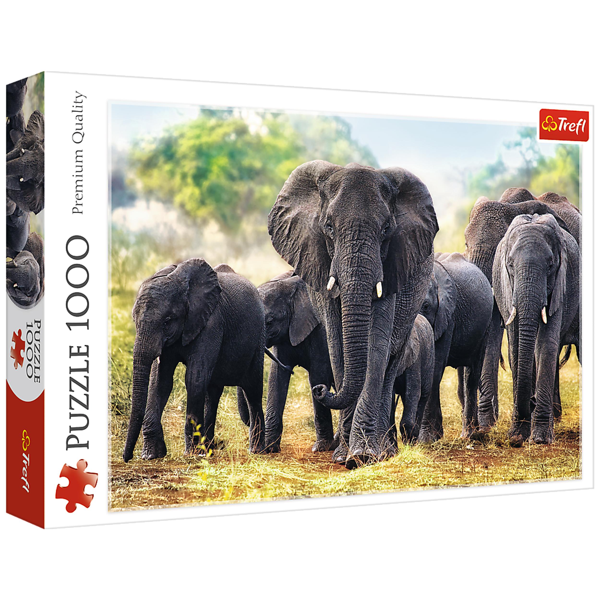 پازل 1000 تکه تریفل طرح فیل افریقایی